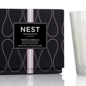 NEST Fragrance  3-Wick Candle in White Camellia